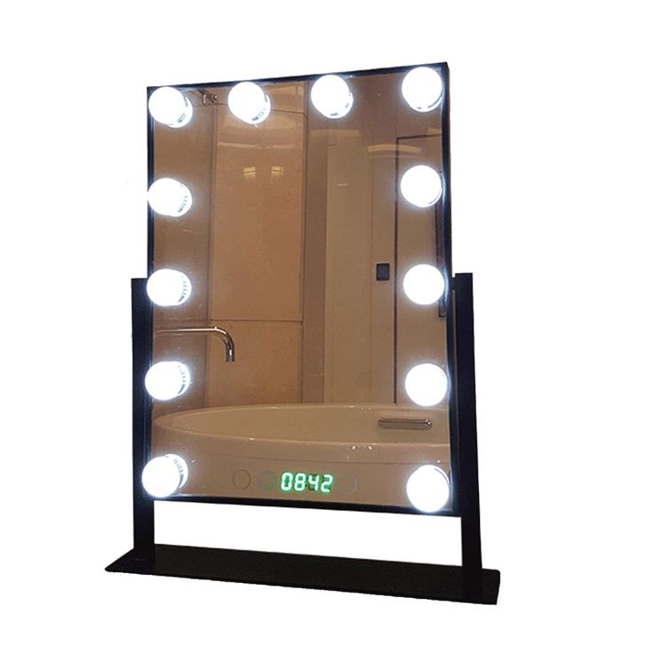 25 best ideas about lighted makeup mirror on pinterest mirror vanity makeup vanity tables. Black Bedroom Furniture Sets. Home Design Ideas