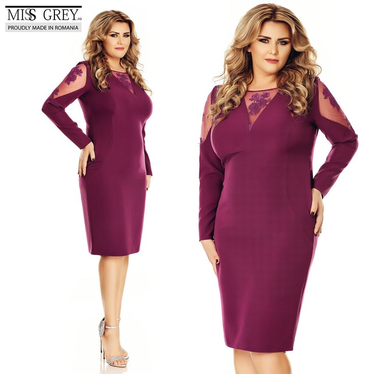Look fabulous for the most #special moments of your life wearing the beautiful Iman Plus Size dress with fine embroidered lace inserts.