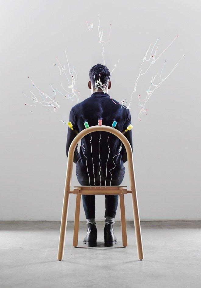 Josie, the chair that pops par Mathery Studio
