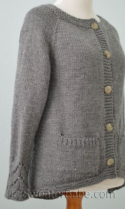 Ravelry: #224 Tuesday's Cardi by SweaterBabe