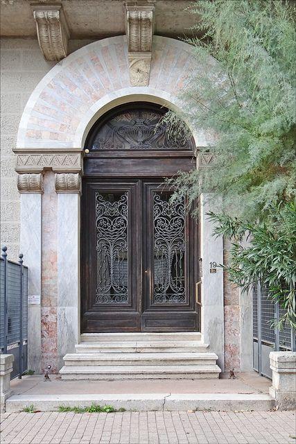 """La """"casa Licia"""" de style Liberty (Lido de Venise)"""