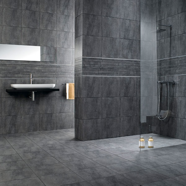 Bathroom Tiles Grey