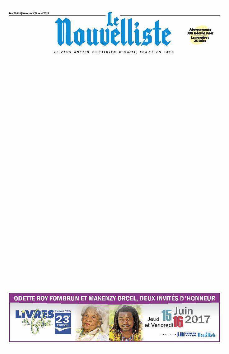Le président de la République a quitté le pays, mardi, pour prendre part en Équateur à la prestation de serment du nouveau président élu de ce pays, Lenin Moreno. Ce deuxième voyage officiel de Jovenel Moïse le conduira aussi au Mexique où il participera  au 5e sommet de la Plateforme globale pour la réduction des risques et des désastres.  Jovenel Moïse et son épouse sont arrivés hier soir à Quito, la capitale de l'Équateur. Le chef de l'État haïtien a été d'abord conduit à la Plaza de…