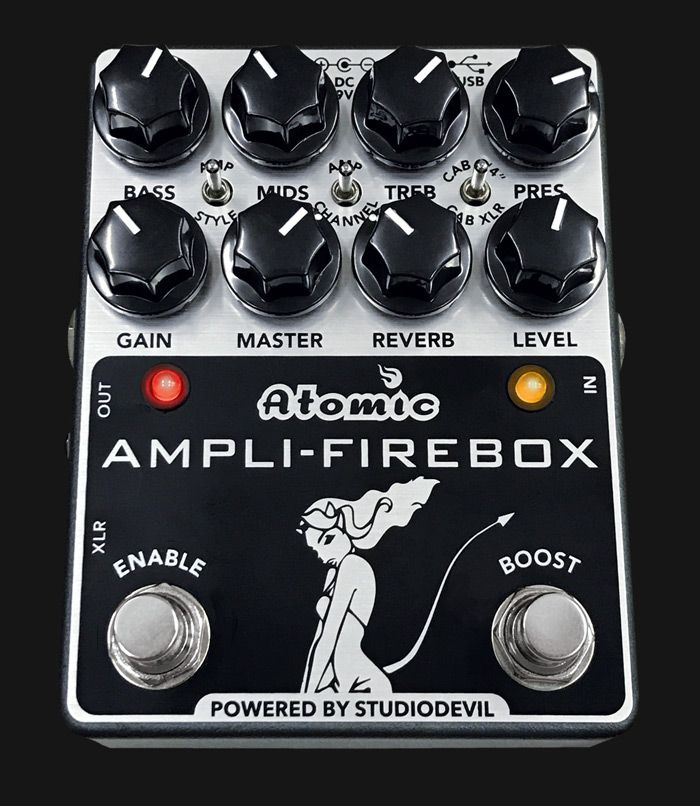 Ampli Firebox By Atomic Amps Ultimate Amp In A Box Impulse Response Pedalboard Atom