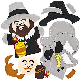 Guy fawkes puppet kits from Baker Ross | Bonfire night | Pinterest ...