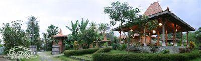Rumah dijual di Jogja: Villa Etnik Mewah dan Kolam Renang