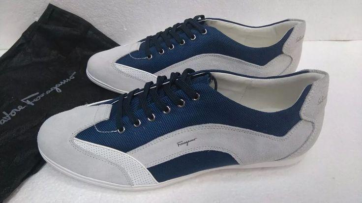 zapatillas tenis hombre ferragamo original 6 meses gtía
