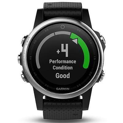 GARMIN Fenix 5s Silver/ Black - GPS/Glonass Multi Sport Fitness Watch