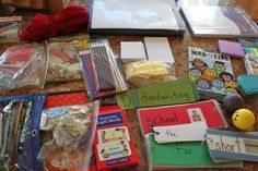 """Substitute teacher """"Bag of Tricks"""" list. Great website full of resources and ideas!"""