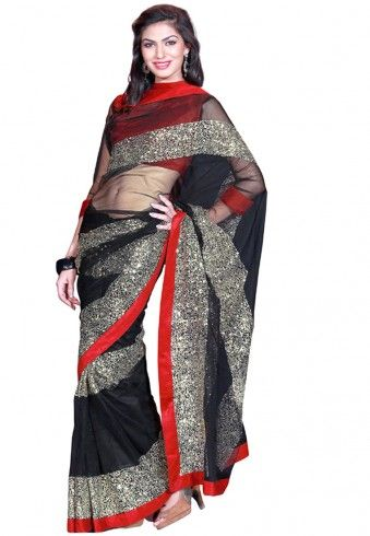 #Saree - #SAREES - #jabongworld #indianethnic #ethnic #indiansaree indian ethnic #kalazone