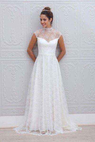 Marie Laporte robe de mariee 2015 - La Fiancee du Panda blog mariage Albane_1face