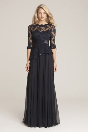 Lace mother of the bride dress,Long chiffon mother of the groom dresses,Half sleeves mother dress,Plus size mother dress,Evening gowns 2016
