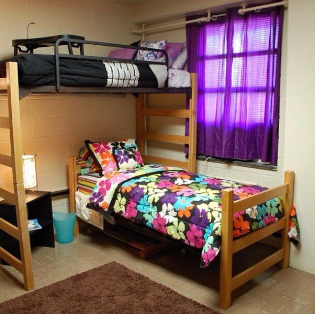 Perfect dorm arrangement idea