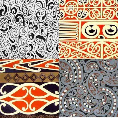 Design Phoenix: I'm Loving...Maori Designs