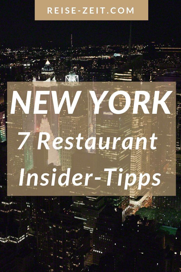 New York Gourmet Guide – 7 Restaurant Insider-Tipps   Luxus Reiseblog – Reise-Zeit.com