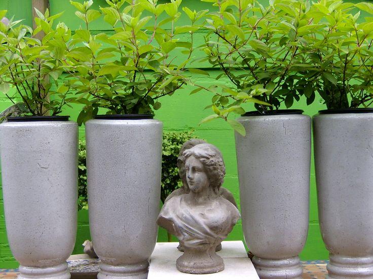 stijlvolle potten met beeld   VIA CANNELLA WOONWINKEL   CUIJK