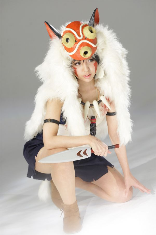 San, Princess Mononoke. Not quite true to the film timeline, but still looks good.