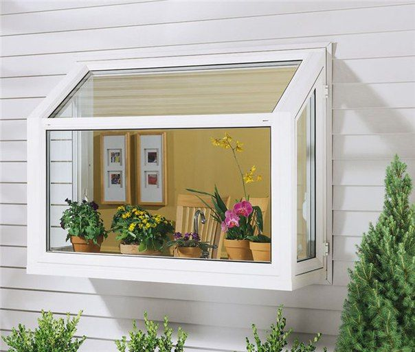 И картина, и имитация балкона, и мини-теплица! | Дачный сад и огород