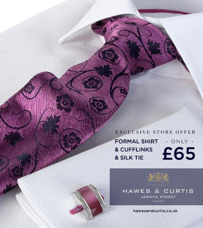 Smarten up for #ValentinesDay with an exclusive in-store offer from Hawes and Curtis in #RegentStreet.