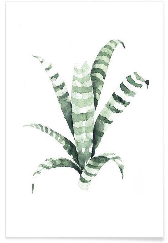 Tiger als Premium Poster von Annet Weelink Design …