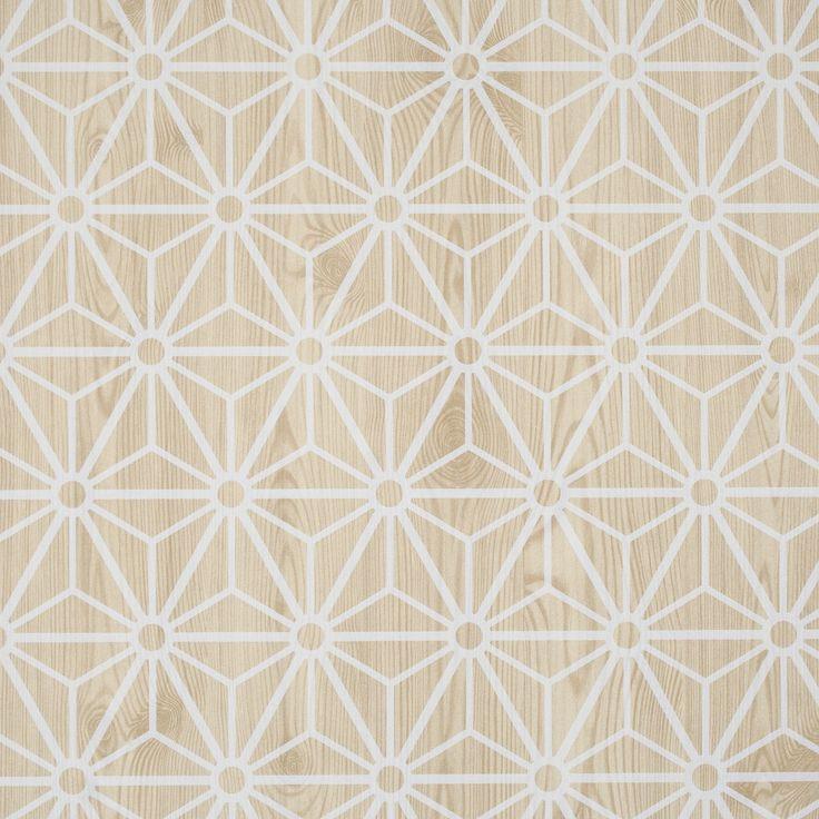 Wood Wallpaper brown / Hout Behang Bruin - Layers by Edward van Vliet 49041 - BN Wallcoverings