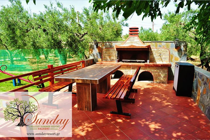 BBQ, Are you ready to grill burgers and fishes ? Everything is ready ...  #SundayHalkidiki #Halkidiki #food #holidays #Greece #Summer2016 #travel
