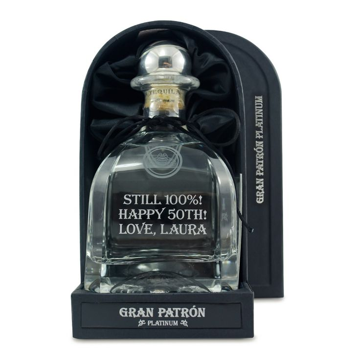 Gran Patron Platinum Tequila.When it comes to tequila, there is no better than Patron. | spiritedgifts.com