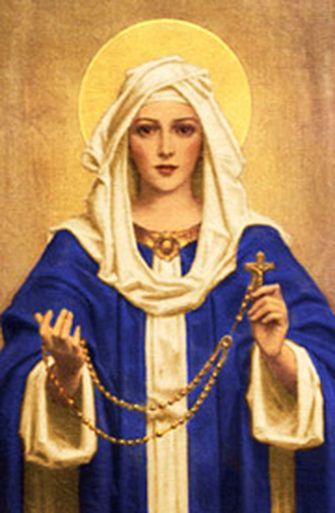 A oração do terço leva ao  Rosário!