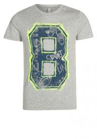Benetton - T-Shirt print - grey