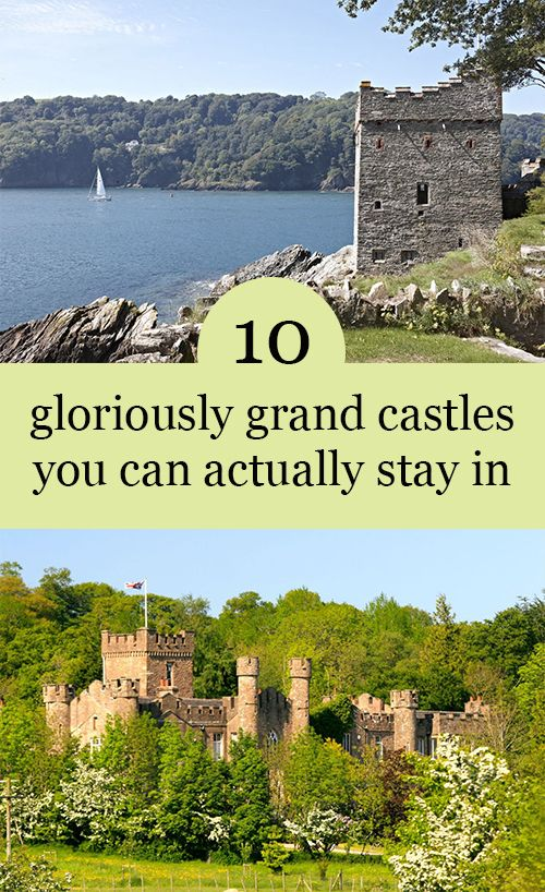 There's something quite magical about sleeping in a castle. Perhaps it has something to do with the grandiose architecture, spectacular scenery or centuries of history played out within the walls? Whatever the reason, we've chosen our top 10 to stay in, so you can enjoy a right royal break.​..