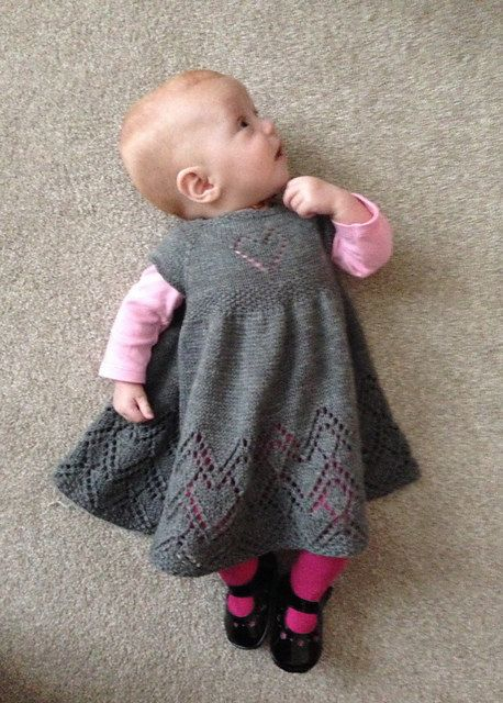 Helen Joyce Baby Dress PDF pattern in english by cashmerejunkie