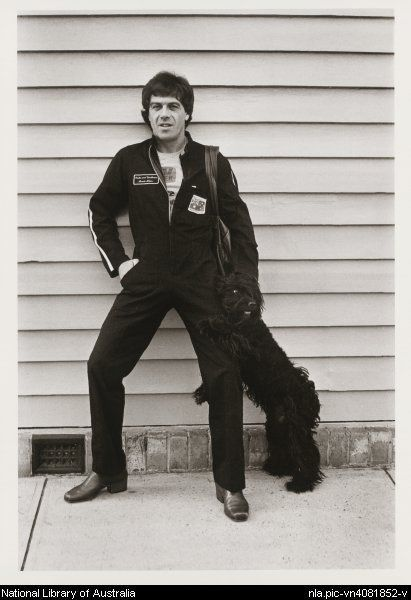 Rennie Ellis (1940-2003): Ian (Molly) Meldrum, Prahran, 1978