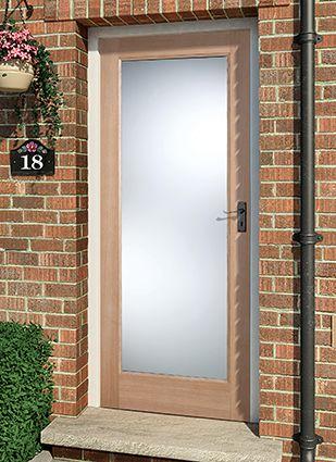 Classic Victorian oak 4 panel door from davesdoors.co.uk solid sturdy external & Best 25+ External wooden doors ideas on Pinterest | External front ... pezcame.com