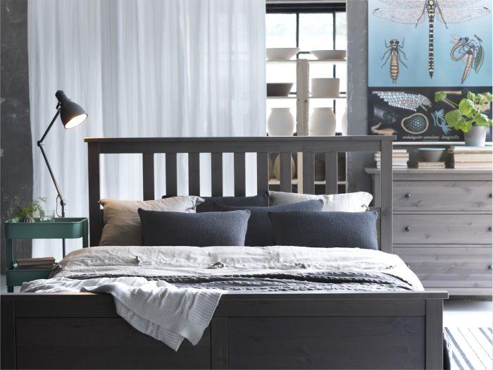 Den nye oppland seng fra ikea gi'r dit soveværelse et stilrent ...