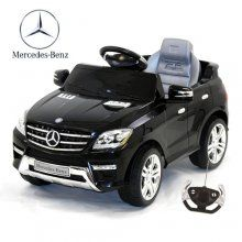 6v mercedes ml350 ride on car in black