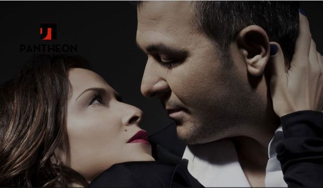 Antonis Remos and Anna Vissi at the Pantheon Theatre - from 12.12.2013.