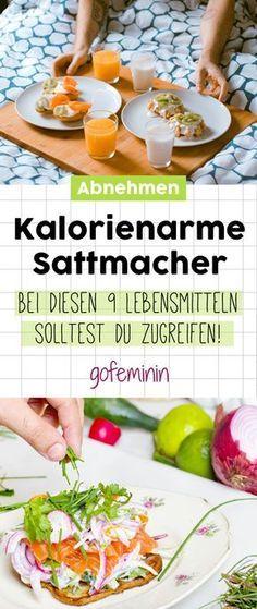 Kalorienarme Sattmacher: DIESE 9 Lebensmittel unterstützen dich beim Abnehmen!