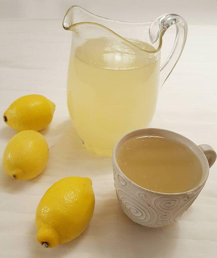 Hälsodrink med ingefära och citron