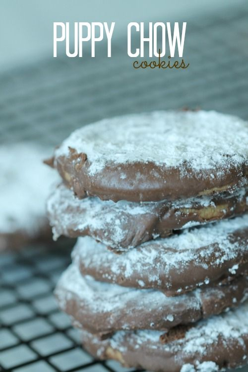 Puppy Chow Cookies Recipe!                                                                                                                                                                                 More