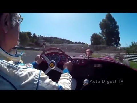 FERRARI 250 TR 1957 ON BOARD PERGUSA CIRCUIT