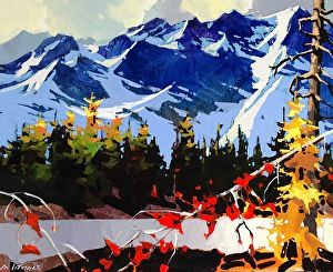 """Howe Sound In Autumn by Michael O'Toole Acrylic ~ 20' x 24"""""""