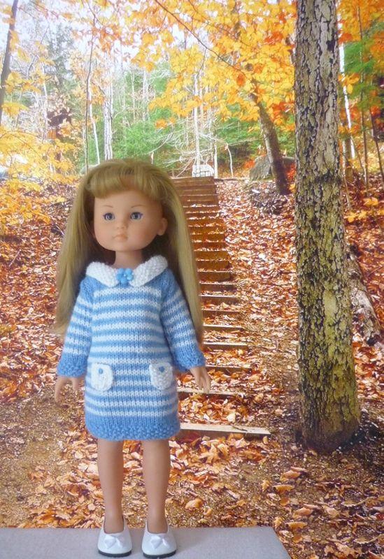 Robe et sac #modèle gratuit #poupée