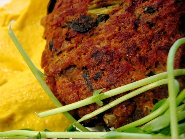 Buckwheat Sweet Potato Burgers | Meghan Telpner Nutritionista