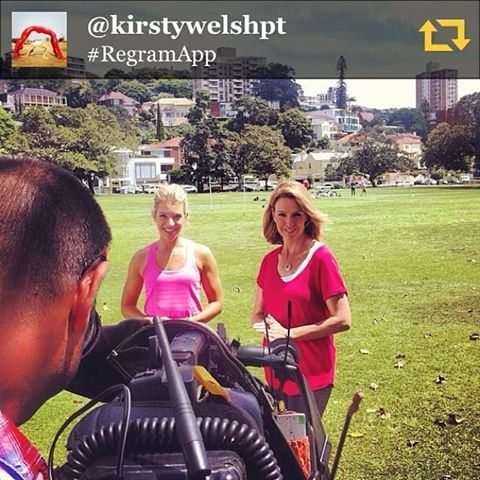 Behind the scenes with Kellie Sloane.