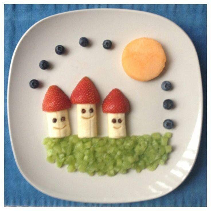 Rico y divertido desayuno