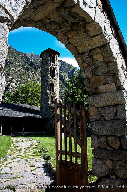 Esglesia Santa Colomma, Andorra La Vella, Andorra, Pyrenees