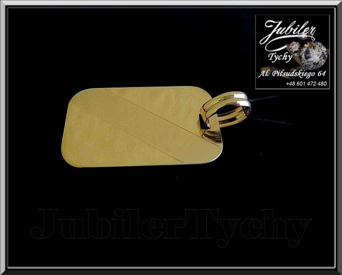 #Złoty #wisiorek #duża #blacha #złoto #Au585 #zawieszka #blaszka #pod #grawer #wyprzedaż #Okazja #Tanio #Gold #Złote #wisiorki #Jubiler #Tychy #Jeweller #Tyski #Złotnik #Zaprasza #Promocje : ➡ jubilertychy.pl/promocje 💎