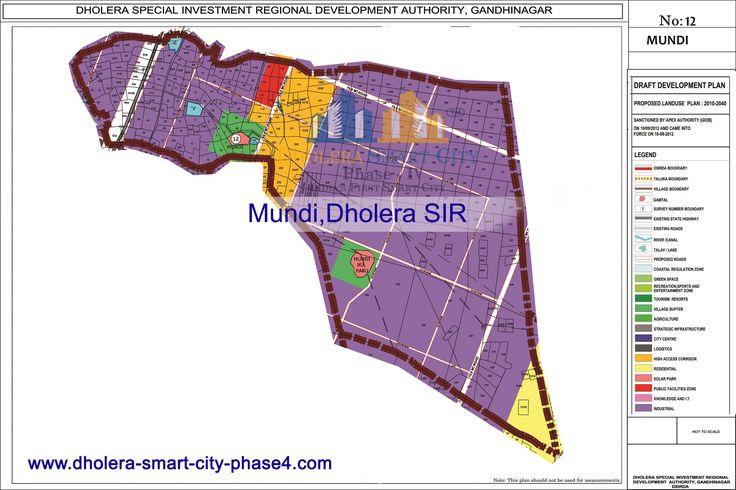 Map of MUNDI,DholeraSIR #Dholera #DholeraSIR #DholeraSmartCity #Gujarat