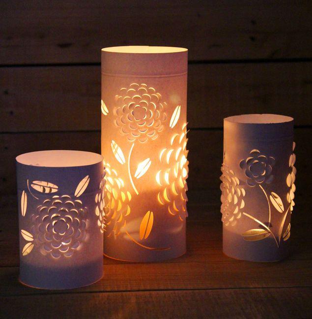 Бумажные фонари - светильники | Своими руками