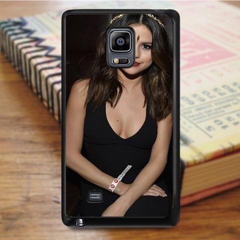 Selena Gomez Beautiful Indian Dress Samsung Galaxy Note 4 Case